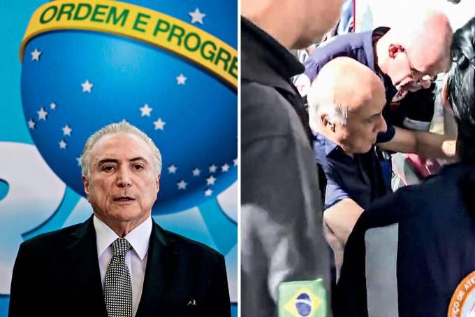 Amigos – O Ministério Público aponta o coronel João Baptista Lima Filho (acima) como um dos coletores de propina para o presidente Temer