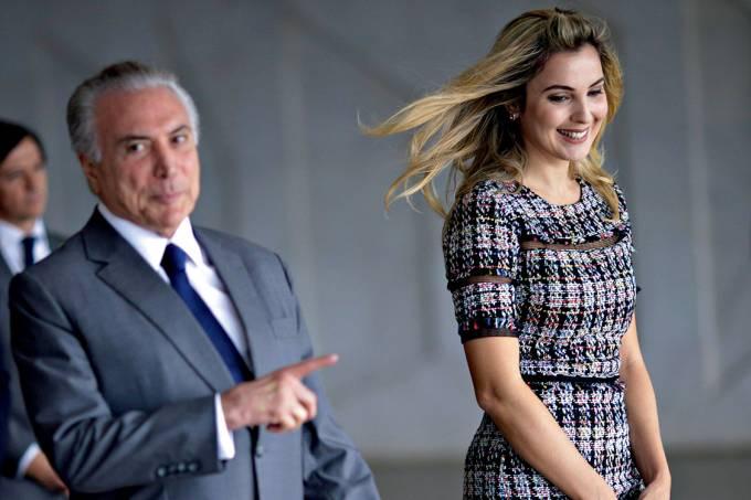 Marcela diz que casa de R$ 800 mil dada por Temer foi doação do Projeto Criança Feliz a ela