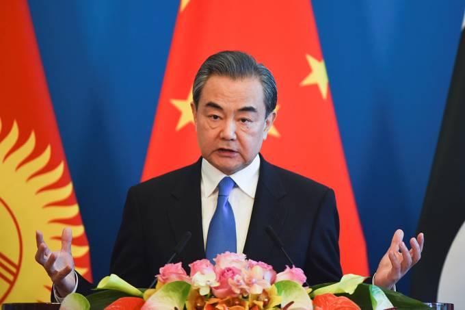Ministro das relações exteriores Wang Yi