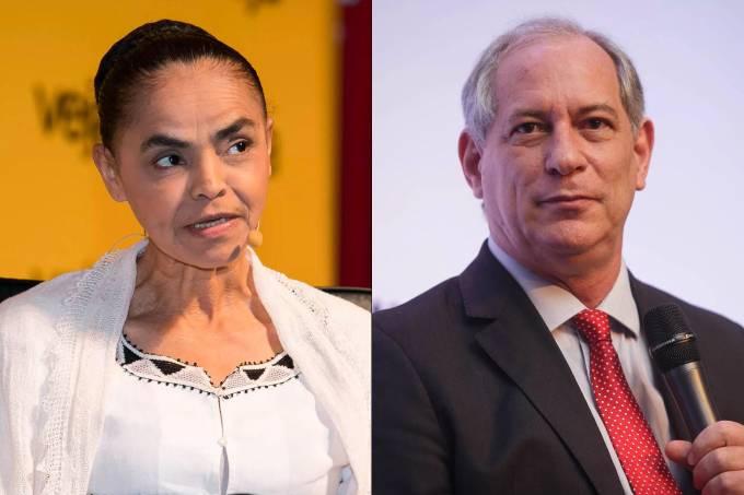 Marina Silva e Ciro Gomes