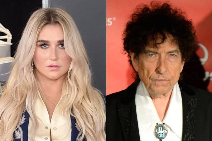 Kesha e Bob Dylan