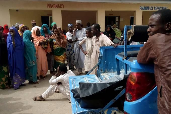 Ataque do Boko Haram em Maiduguri, na Nigéria