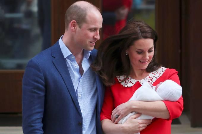 Novo bebê da família real