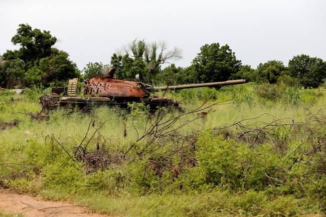 Boko Haram no estado de Borno, Nigéria