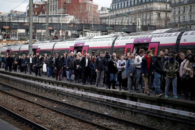 Greve nacional na França