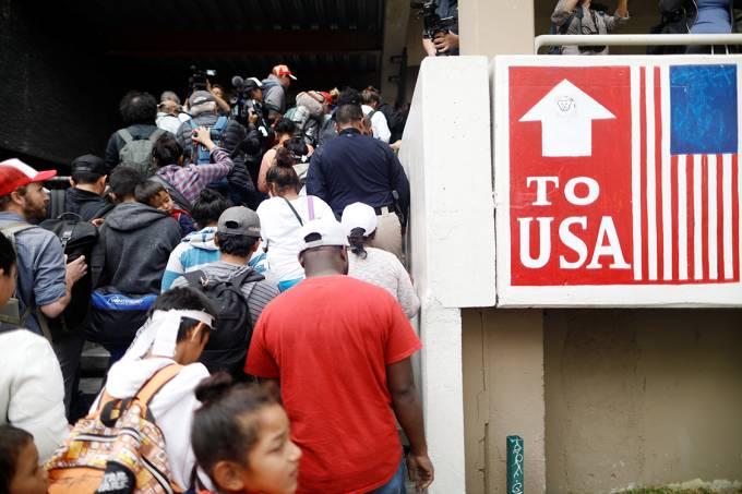 Caravana de imigrantes da América Central