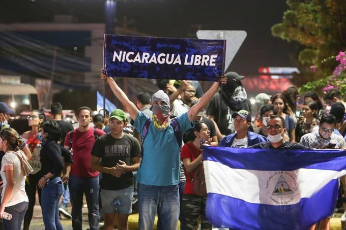 Protestos Nicarágua