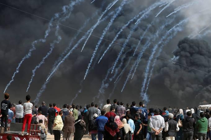 Manifestação Faixa de Gaza