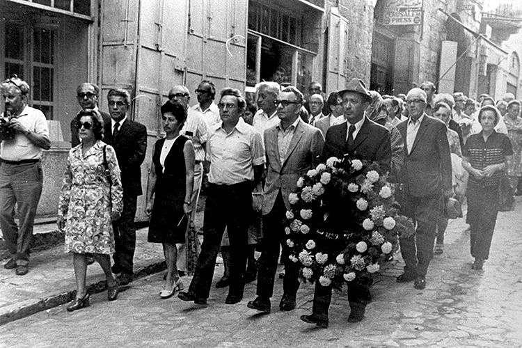 Funeral de Oskar Schindler
