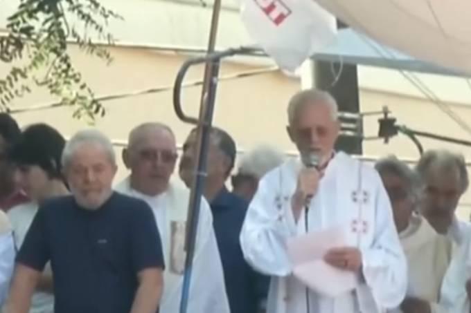 Lula em missa no Sindicato dos Metarlúrgicos