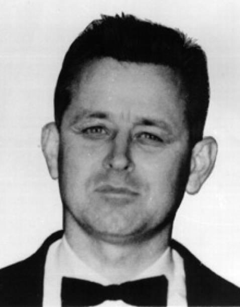 James Earl Ray, atirador que assassinou o Rev. Martin Lurther King Jr.