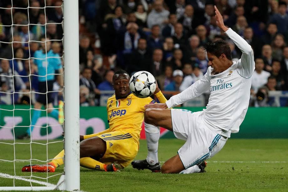 Lance do gol marcado por Matuidi contra o Real Madrid