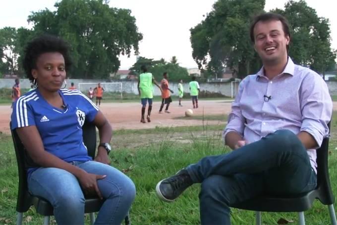 A Expedição Vozes do Futebol está em São Gonçalo, último destino da viagem, e conversa com Natane Vicente