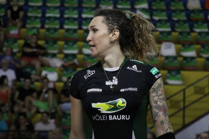 Tifanny permanece em Bauru na nova equipe Sesi Vôlei Bauru