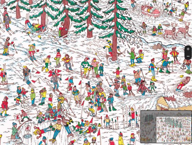 """Jogo """"Onde Está Wally"""" foi instalado no Google Maps"""