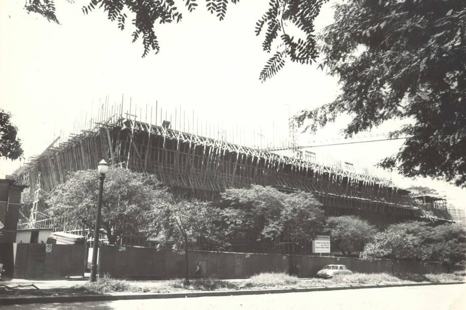 Construção do InCor - 1970