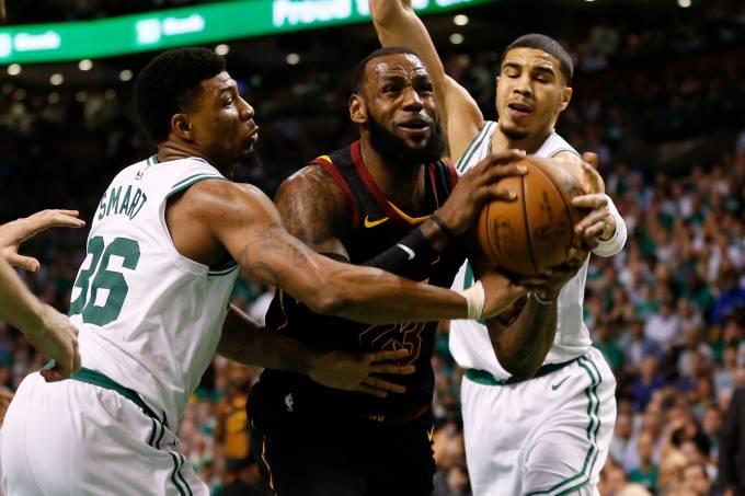Celtics vencem os Cavaliers