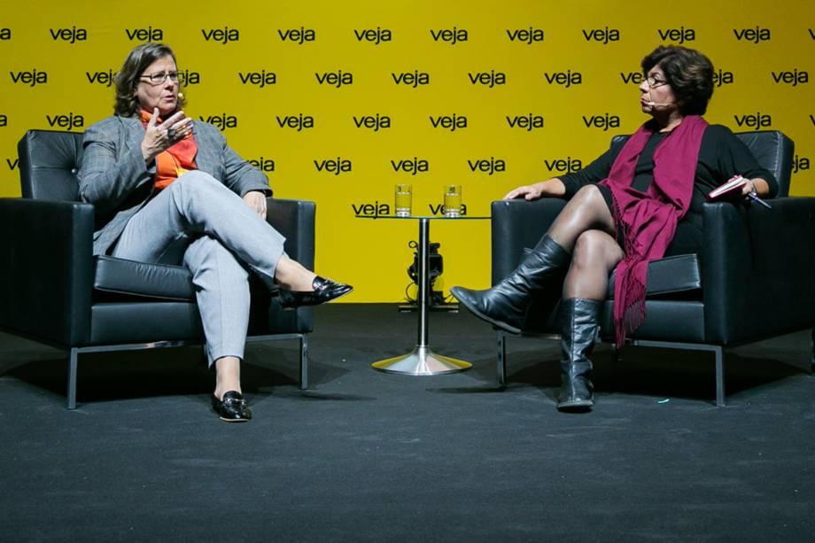 A entrevista com Angela Dannemann foi conduzida pela colunista Dora Kramer - 29/05/2018