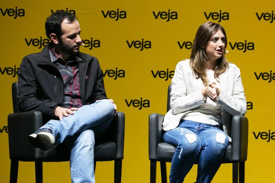 A última entrevista do Amarelas ao Vivo foi com o casal Iberê Thenório e Mariana Fulfaro, criadores do canal do YouTube 'Manual do Mundo' - 29/05/2018