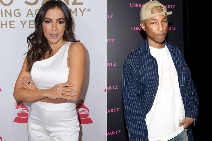 Anitta e Pharrell Williams