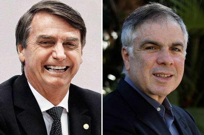 Jair Bolsonaro e Flávio Rocha