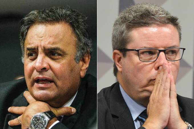 Aécio Neves e Antonio Anastasia