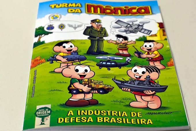 Almanaque 'A Turma da Mônica e a Indústria de Defesa'
