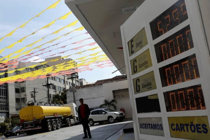 Posto de combustível no Rio de Janeiro