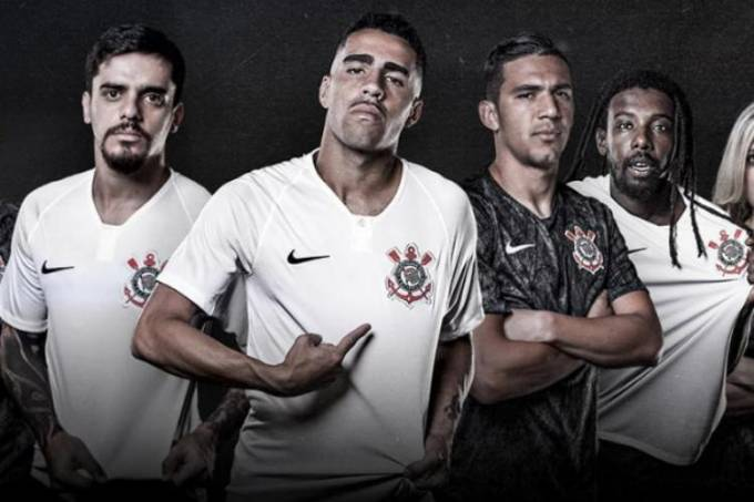 Camisas do Corinthians para a temporada de 2018