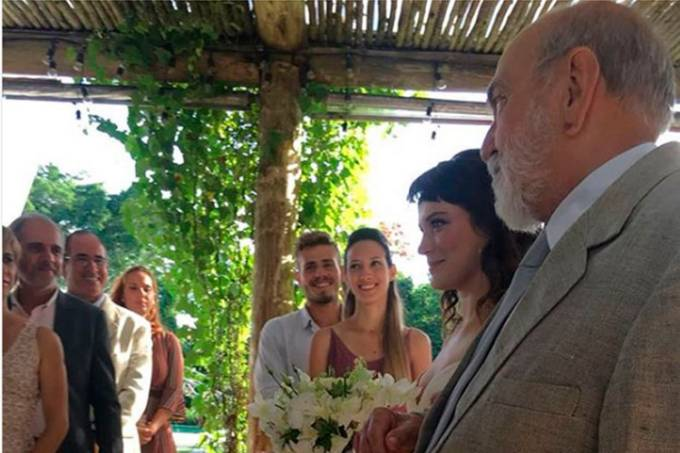 Casamento de Clara na novela O Outro Lado do Paraíso