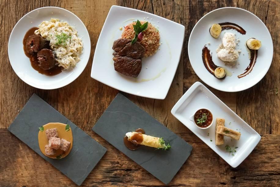 EAT Olivae: Menu Completo em três etapas
