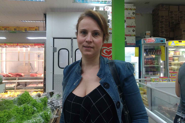 Luciana Zaneti, consumidora do Sacolão São Jorge - 29/05/2018
