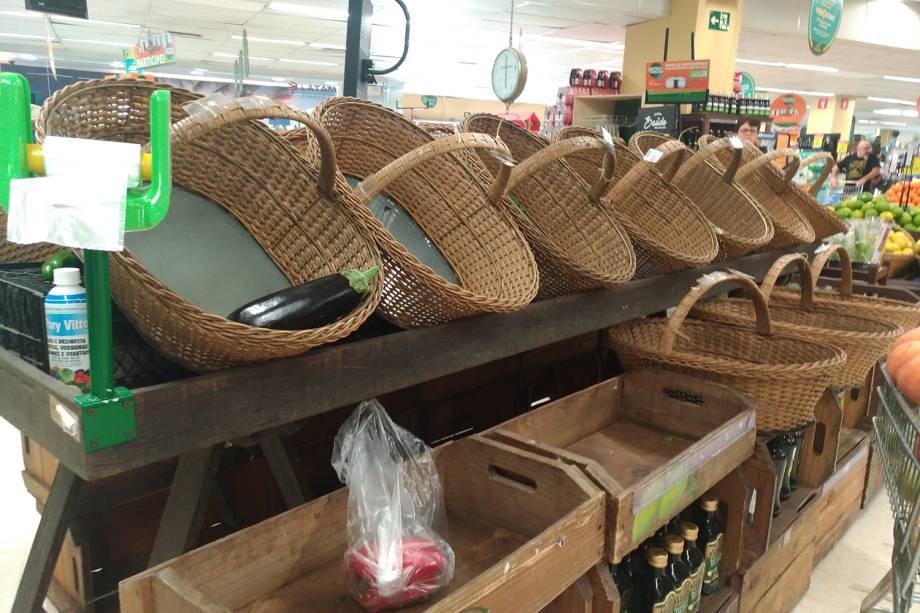 Desabastecimento de produtos em filial da rede Pão de Açúcar, localizado na Rua Teodoro Sampaio, em Pinheiros, zona oeste da capital paulista - 29/05/2018