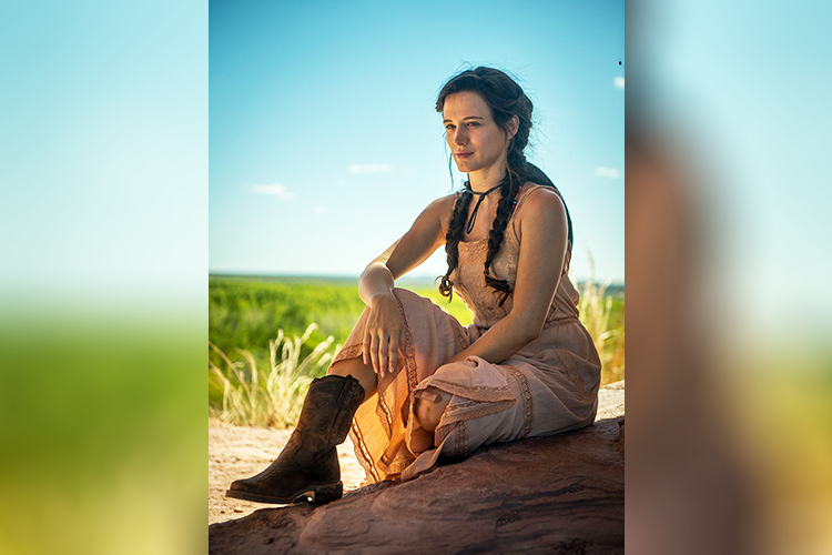 Clara (Bianca Bin), em 'O Outro Lado do Paraíso'