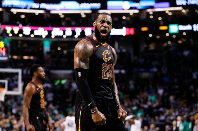NBA Cleveland Cavaliers vs Boston Celtics