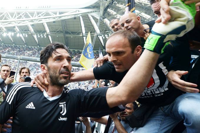 Gianluigi Buffon se despede da Juventus