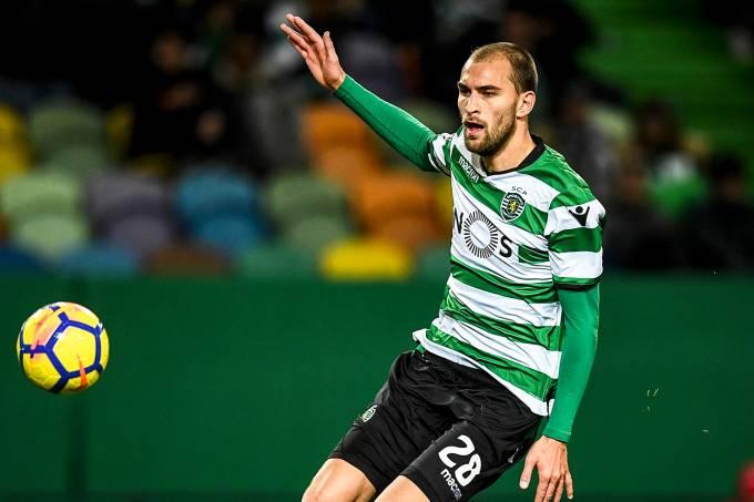 O jogador Bas Dost, do Sporting