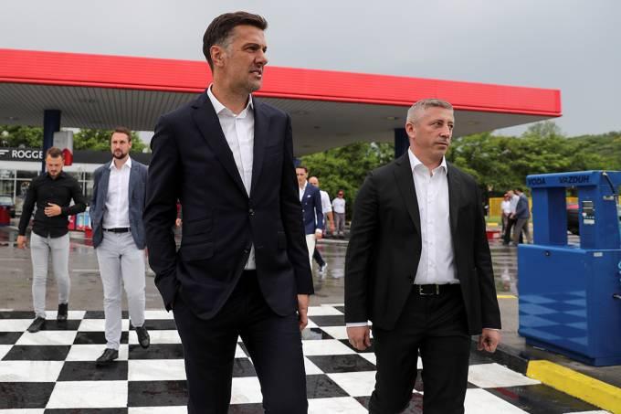 Mladen Krstajic técnico da seleção da Sérvia