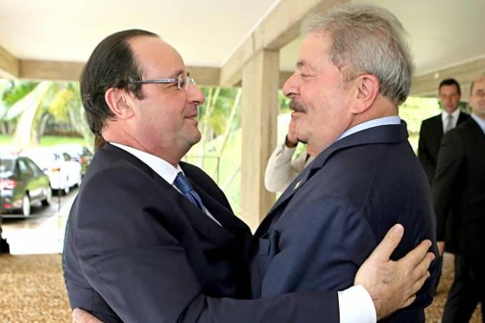 François Hollande e Lula