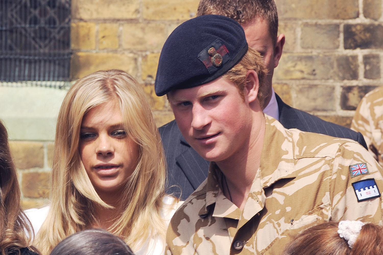 Príncipe Harry e sua ex-namorada Chelsy Davy - 05/05/2008