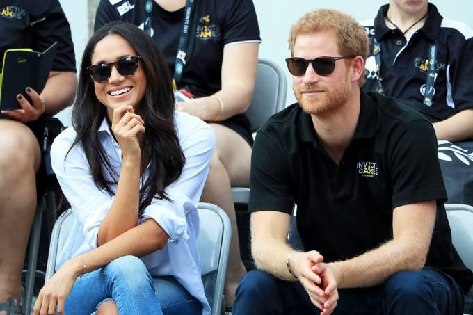 Príncipe Harry e Meghan Markle – Namoro