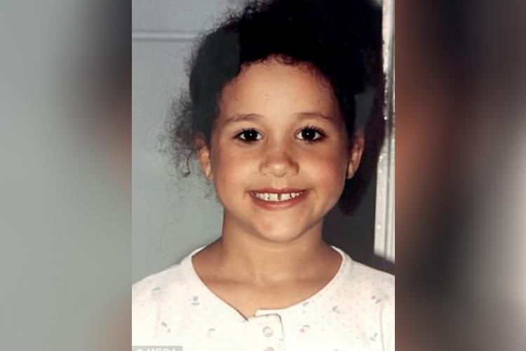 Meghan Markle durante sua infância