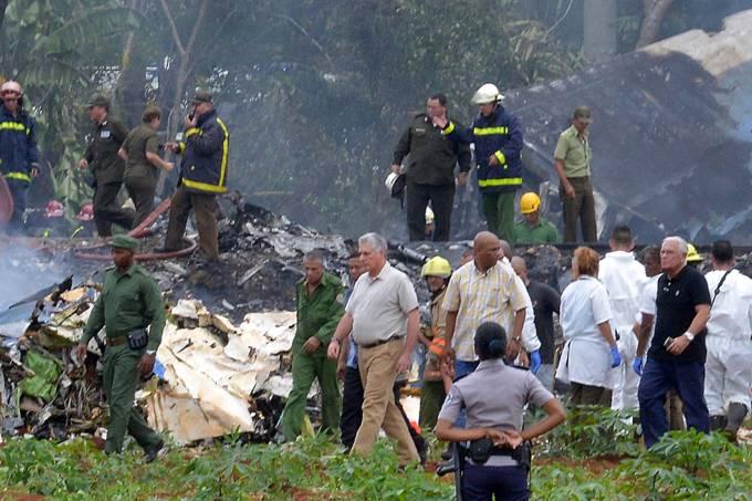 Avião cai após decolagem em Cuba