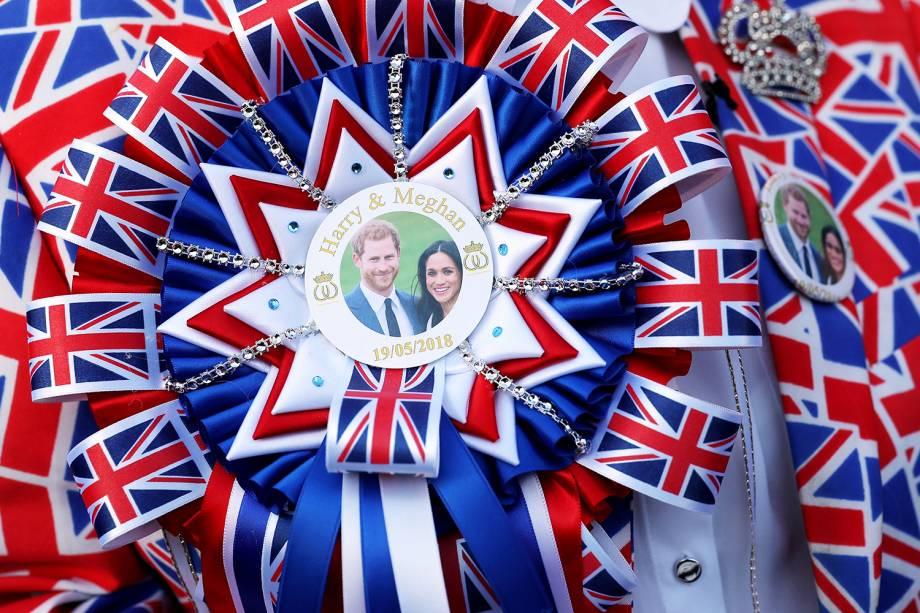 Preparativos para o casamento real entre o príncipe Harry e a atriz Meghan Markle - 19/05/2018