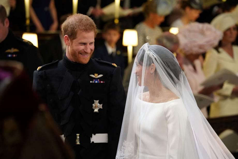 Durante a cerimônia, Harry disse a Meghan: 'Você está linda' - 19/05/2018