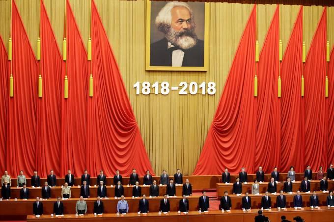 Bicentenário de Karl Marx na China