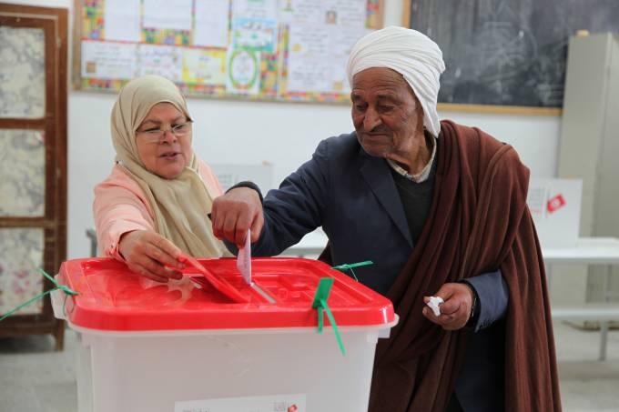 Eleições na Tunísia