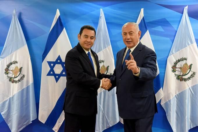 Inauguração da embaixada da Guatemala em Israel