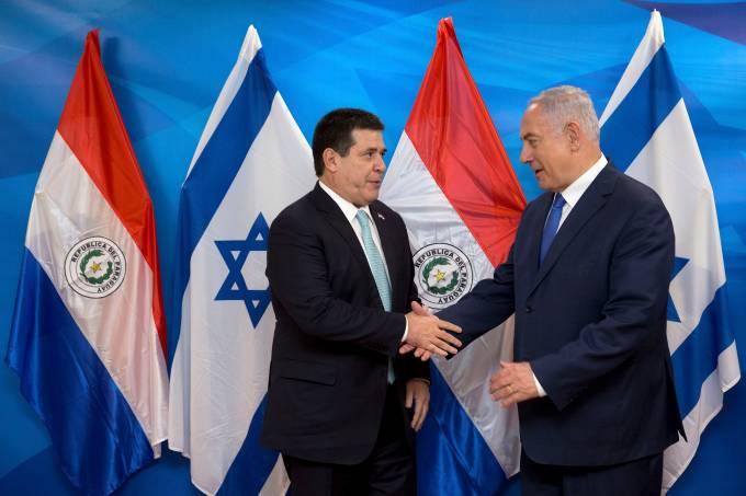 Embaixada paraguaia é inaugurada em Jerusalem