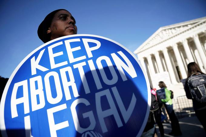 Protestos pelo aborto nos EUA